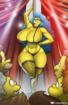 Marge's Mega Mammaries by expansion-fan-comics