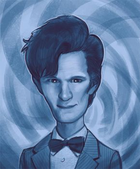 Doctor Who Caricature by stutte