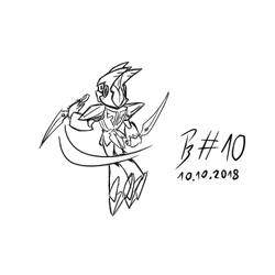 OC-tober #10 - Feather Man by Crimson-Camisole