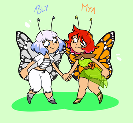 Fairy sisters by popinat