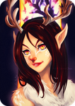 Commission - Deer Anna by Sorina-chan