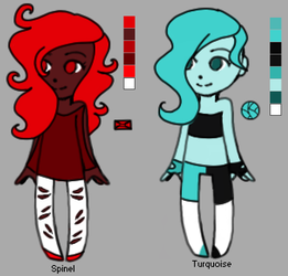 Spinel and Turquoise by EliteUnicorns
