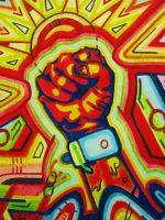 FIGHT THE POWER by L-A-K-ART