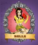 Pin up princess Belle by Hotaru-oz
