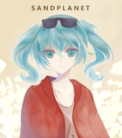 Hatsune Miku [ Sand Planet ] by endeaworks