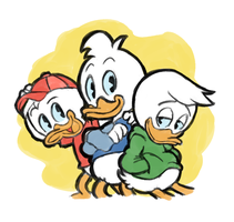 Huey, Dewey, Louie by Papadripopoulos