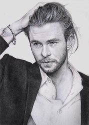 Chris Hemsworth by ekota21