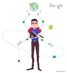 Google character by Chr-Steam