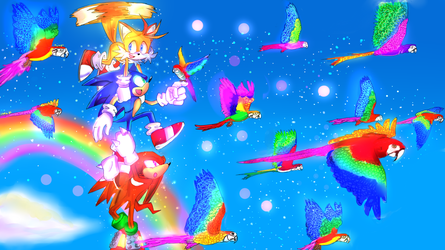 Collab_ Sonic Heroes by LadyGT