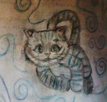 again the cheshire cat by luiganddaisy