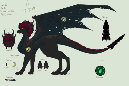 Ash Reference - Dark Form by Cynder18