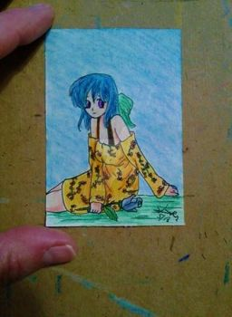 Aceo #71 anime series by ShelandryStudio