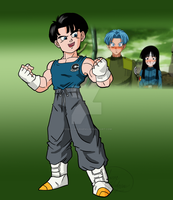Son of Trunks by RebeccaHudgens