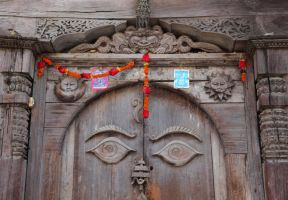 Doors of Nepal by Suppi-lu-liuma
