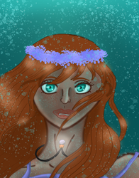 The Pearl Deep in the Ocean by SacredWaterOfDreams