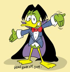 Count Duckula by deanrankine