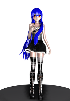MMD Thousand Melodies Project - Holi + Model DL by HaruLikesCarrots