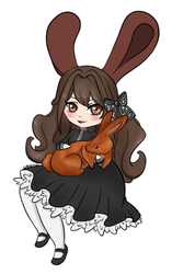 Easter 2018 - chibi by ChiiDoLL