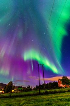 Aurora Borealis/Northern Lights by misa2525