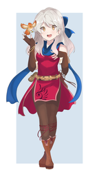 Fire Emblem - Micaiah and Yune Full Body by chocomiru02