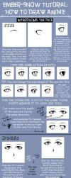 TUTORIAL: How to Draw Anime by ember-snow