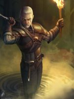 Geralt of Rivia by TheMaestroNoob
