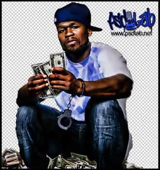 50 CENT PSD by psdlab