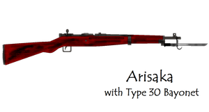 Arisaka with Type 30 Bayonet by pete7868