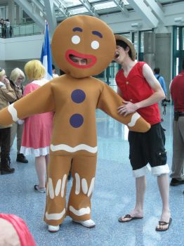 AX 2010: Gingerbread Man by ShipperTrish
