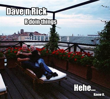 Dave n Rick Doin Things by electricsorbet