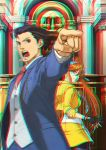 Ace Attorney 3D Anaglyph 3 by xmancyclops
