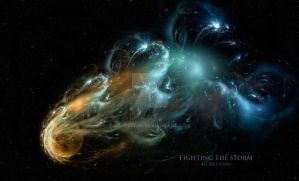Fighting the Storm by Ali Ries 2016 by Casperium