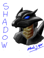 Tegaki Shadow by GhostLiger