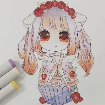 Strawberry Fairy Commission by chanppi