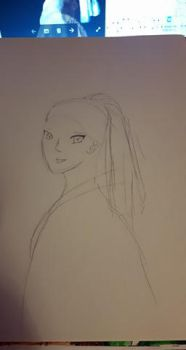 DRAW WITH JAZZA CHALLENGE OF THE MONTH JUNE WIP 1 by demypeace
