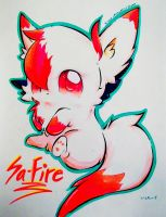 SaFire! by Silver-Artemis-Moon