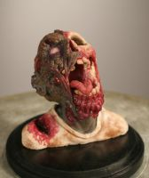 Front Zombie by Kahiah
