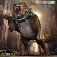 Wolf Guardian, by Summoner by FantasiesRealmMarket