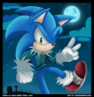 Happy Halloween 2015 - Sonic by VagabondWolves