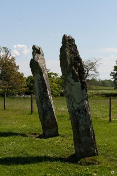 Scottish Standing Stones by amyhooton