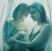 Mother and  Dother 2 by selma-todorova