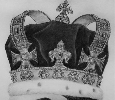 English Crown Detail by mayastoso