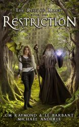 Restriction - Book cover by Mihaela-V