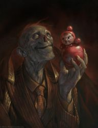 Favourite Toy by apterus