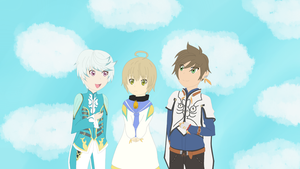 Mikleo Laphicet and Sorey by AnjuSendo
