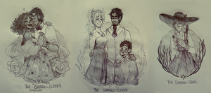 A series of family portraits by Radicles