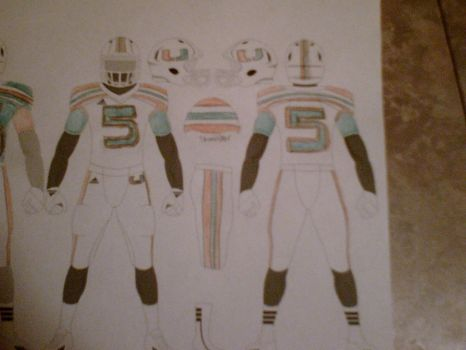 Miami Hurricanes Adidas jersey concept: Road by HockeyFanatic154