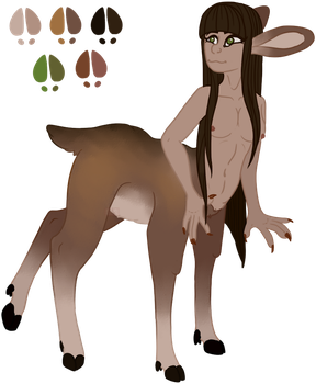 Centaur Deer [Auction|CLOSED] by 0-COCKER-0