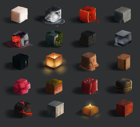 Material Studies by Wolflich