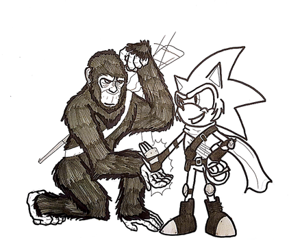 Apes, Together...Cool? by Gojira007